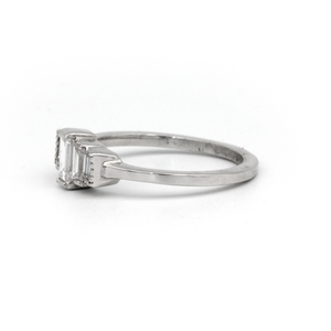 Multi Baguette Cut Diamond Ring