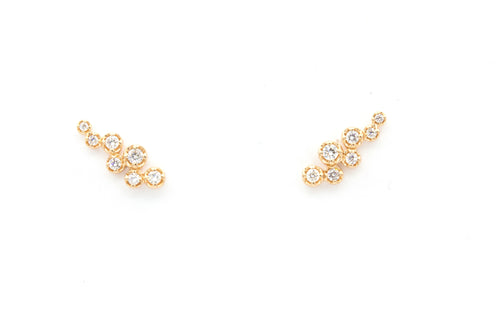 Vine Diamond Earrings