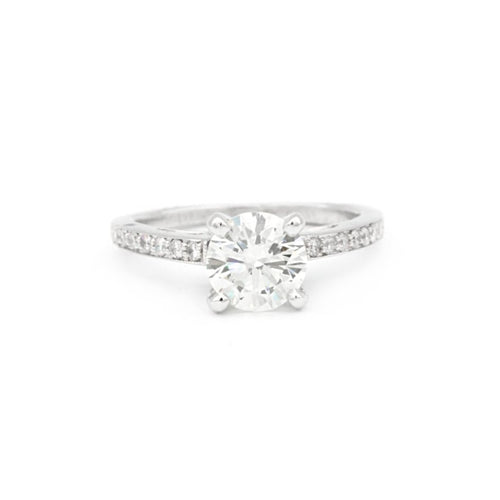 Engagement Ring Brilliant Round Diamond