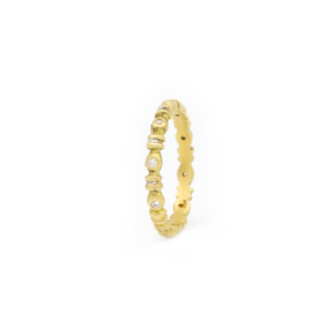 Grecian Diamond Eternity Band