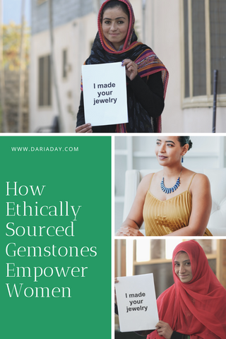 how ethically sourced gemstones empower women