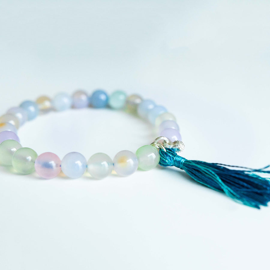 feldspar healing gemstones tassel bracelet alternative view