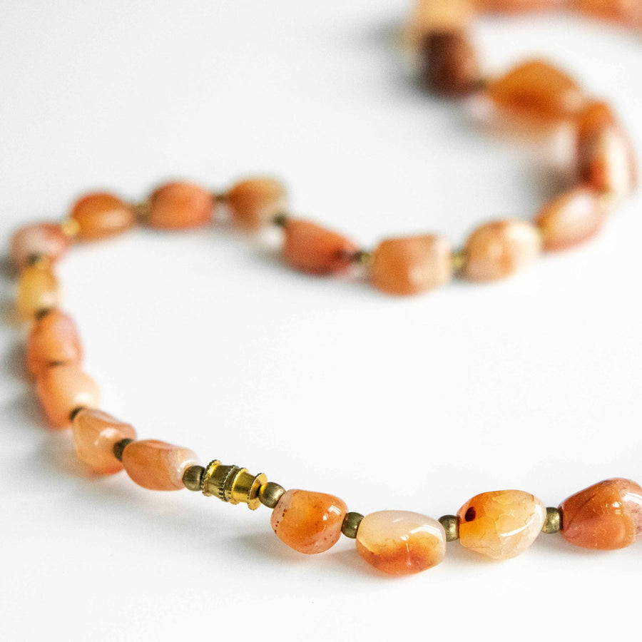 Golden Agate Necklace