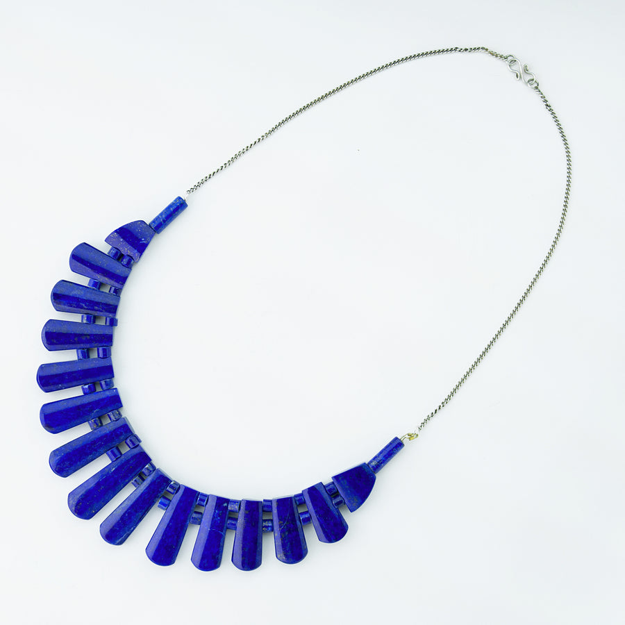 Luminous Sky Lapis  Necklace