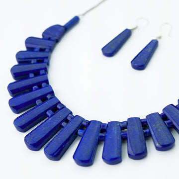 Luminous Sky Statement Necklace
