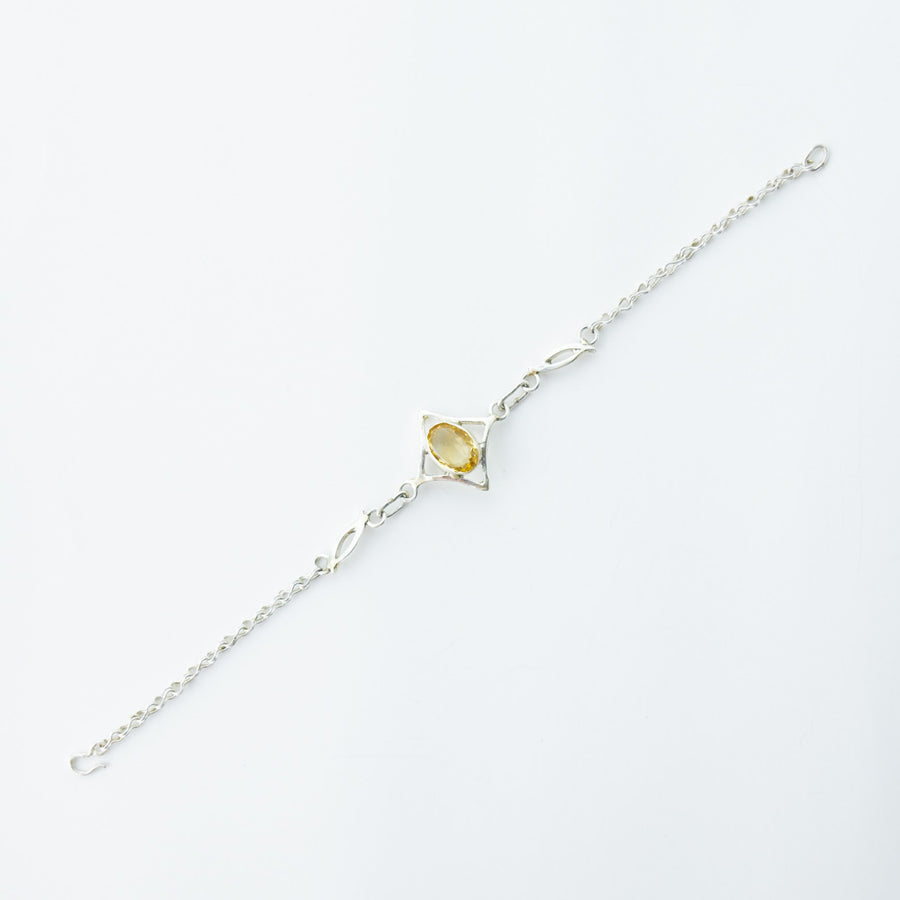 North Star Citrine Bracelet