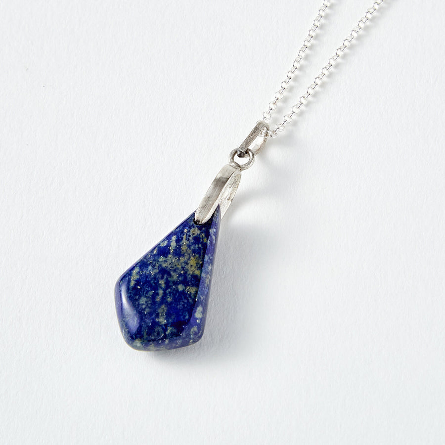 clarity lapis healing gemstones diamond pendant