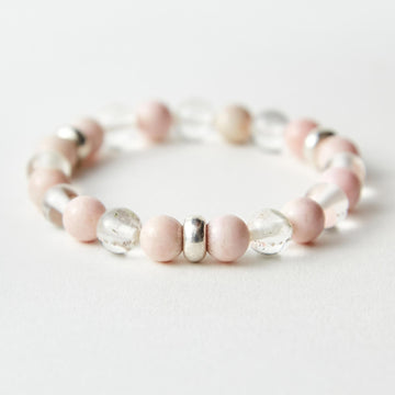 Illuminating Energy Pink Chalcedony
