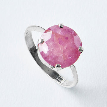 roots of passion ruby healing gemstone ring