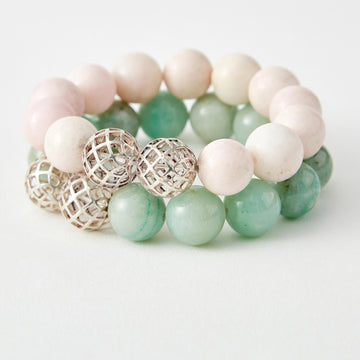 journey in faith chalcedony healing gemstones bracelet