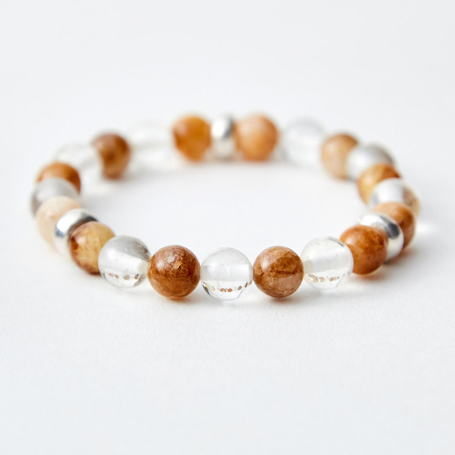 Joyful Spirit Yellow Quartzite Bracelet