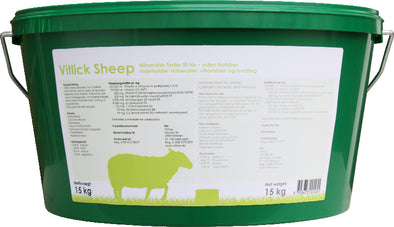 Vitlick Sheep 15 kilo