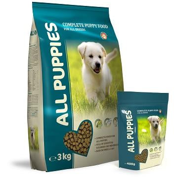 ALL PUPPIES - Premium foder 3 kilo