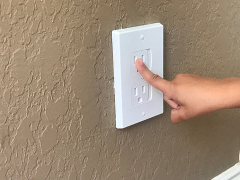 electrical outlet baby proofing