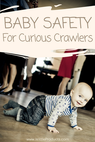 When babies start crawling it is very exciting. Keeping new crawlers safe is a entirely different story!