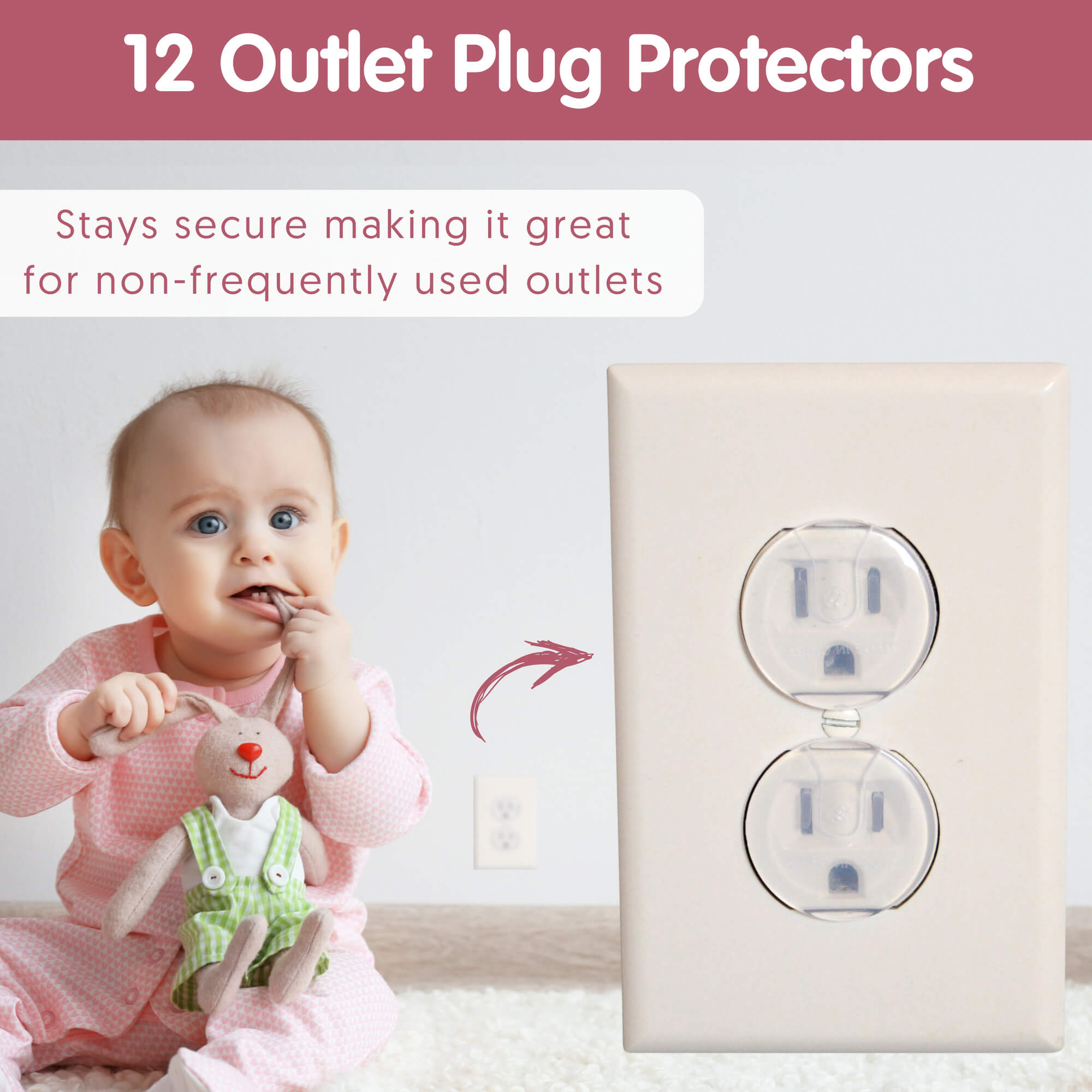 Baby Safety Kit Electrical Outlets Outlet Covers