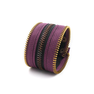 The Perfect Purple Zip Bracelet
