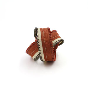 Rusty (Cork) Screw Zip Bracelet - N.Kluger Designs bracelet
