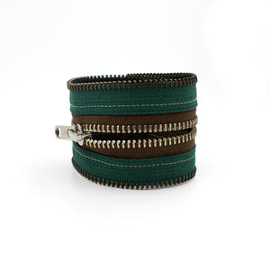 Walking in the Woods Zip Bracelet - N.Kluger Designs bracelet