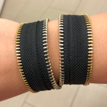 The Classic 1 Zip Bracelet - N.Kluger Designs bracelet