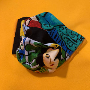 Handmade Reusable Cotton Art Print Face Masks