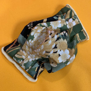 Handmade Reusable Cotton Face Masks in Elegant Florals