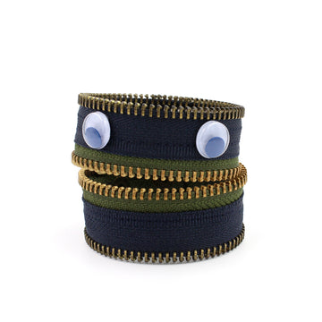 Ivy Olive the Monster Zip Bracelet