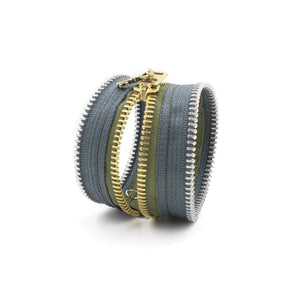 Earthly Delights Zip Bracelet - N.Kluger Designs bracelet