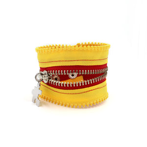 Hold The Relish Zip Bracelet - N.Kluger Designs bracelet