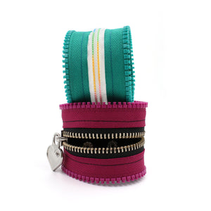 Make Your Own Custom Zipper Bracelet - N.Kluger Designs bracelet