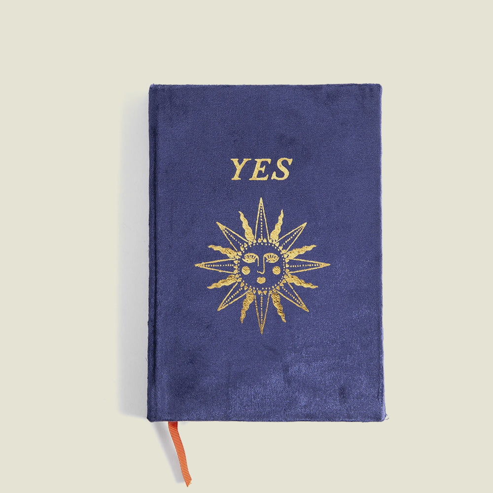Yes Velvet Journal - Blackbird General Store