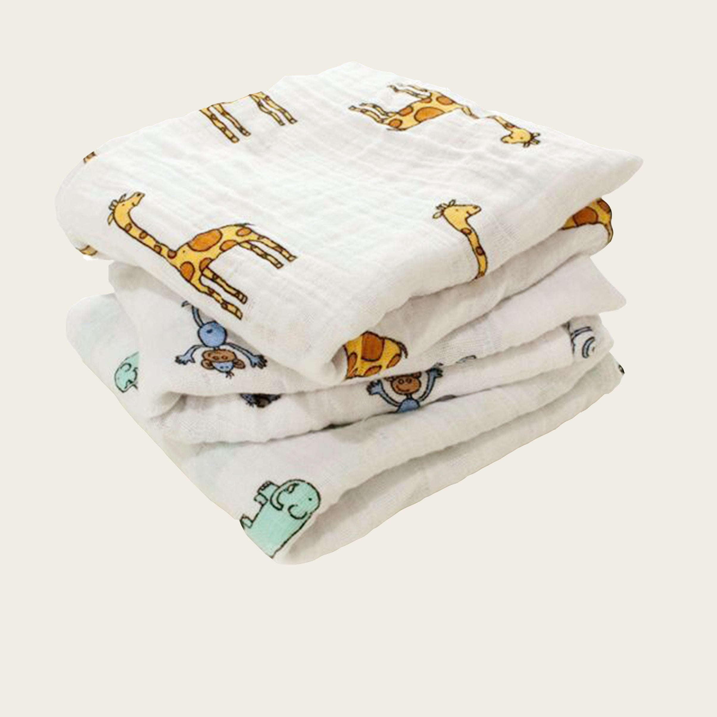 Jungle 3 Pack Classic Swaddles