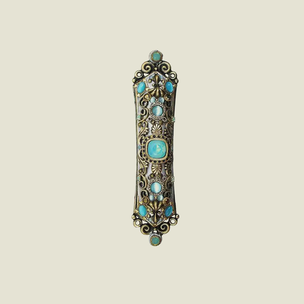 Sky Blue Mezuzah - Blackbird General Store