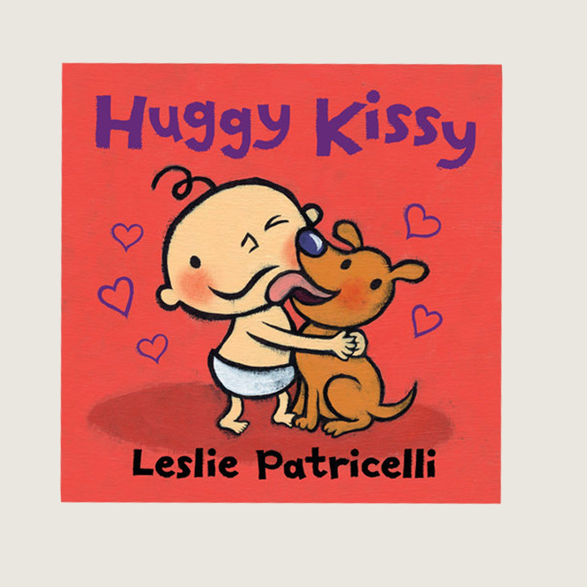 Huggy Kissy Board Book - Blackbird General Store