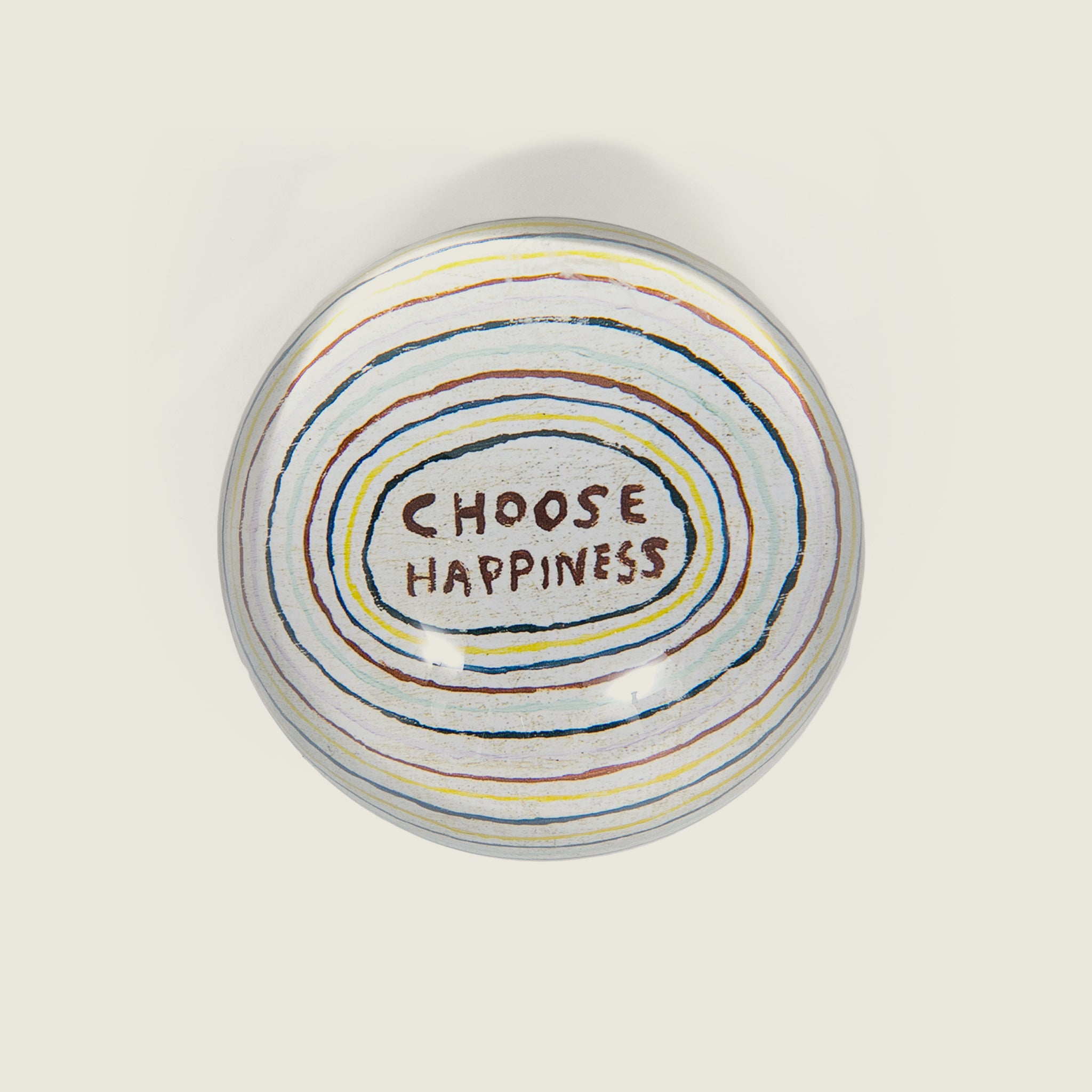 Choose Happiness Paper Weight - Blackbird General Store