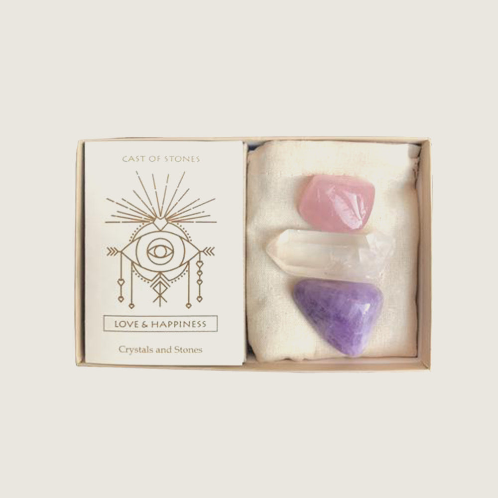 Love & Happiness Stone Set - Blackbird General Store