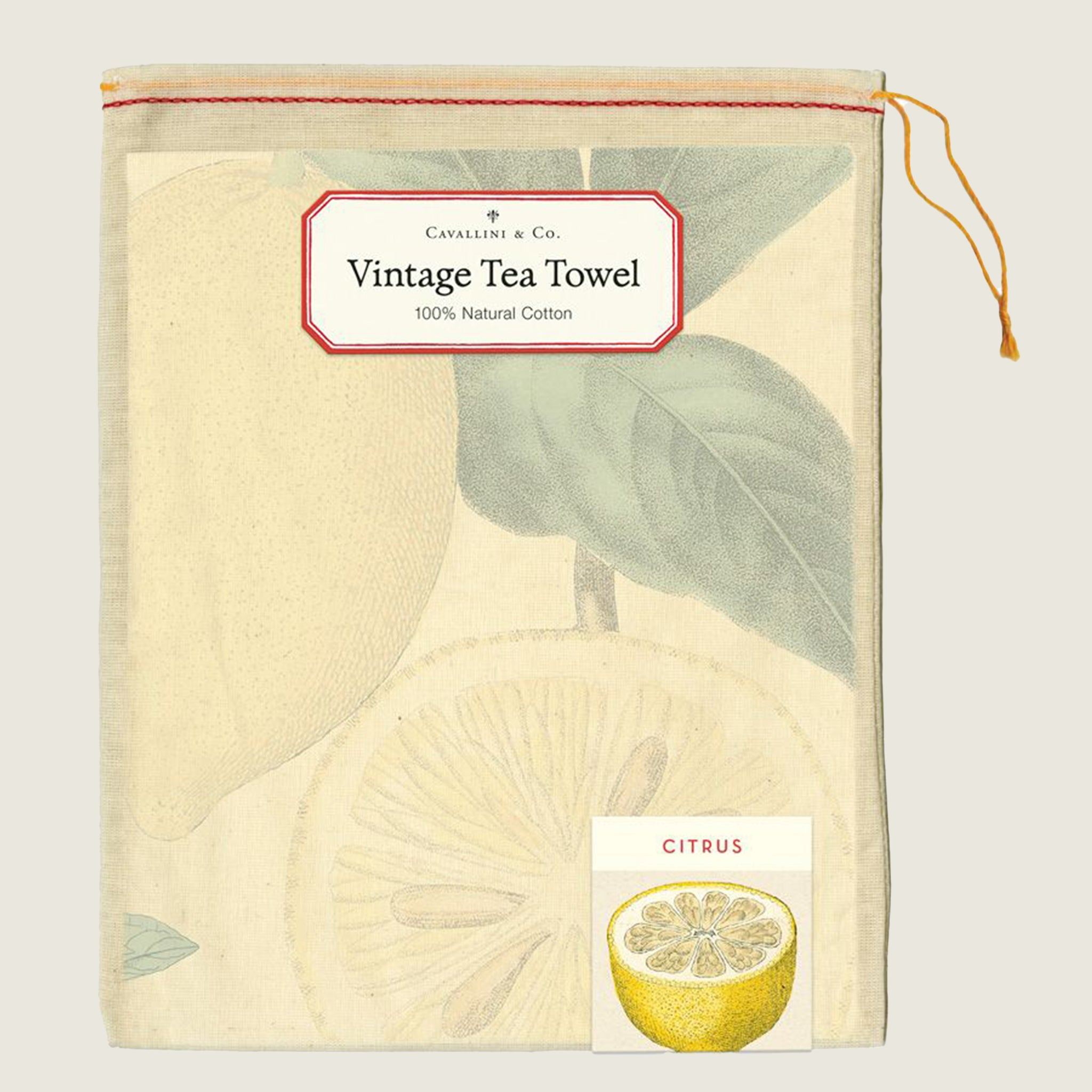 Citrus Tea Towel - Blackbird General Store