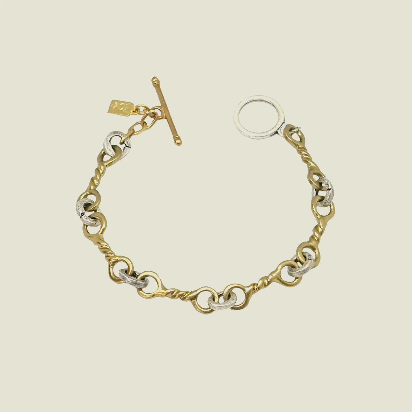 Gold Twisted Ring Bracelet - Blackbird General Store