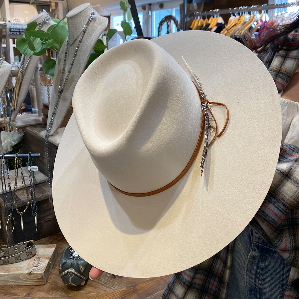 Montana Fedora Cream - Blackbird General Store
