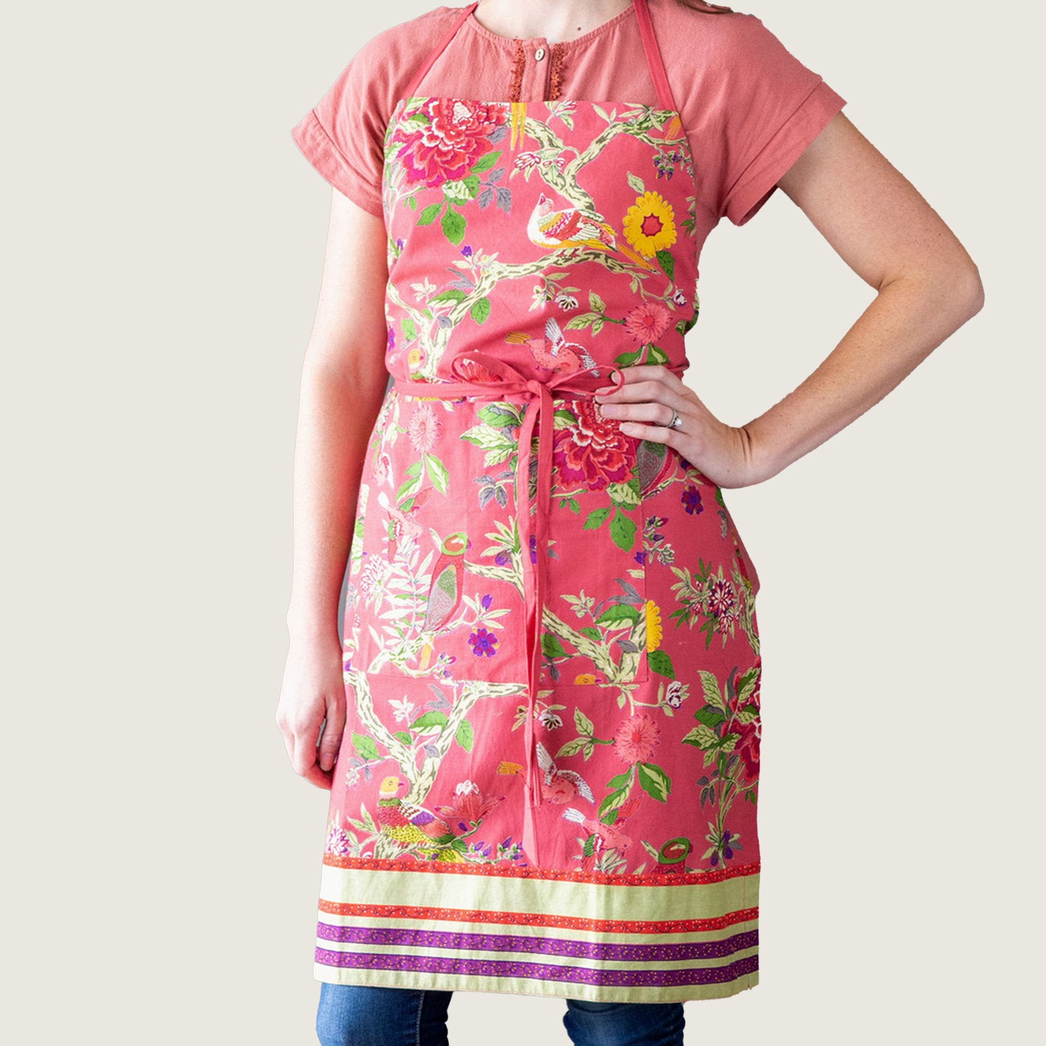 Bird Coral Apron - Blackbird General Store