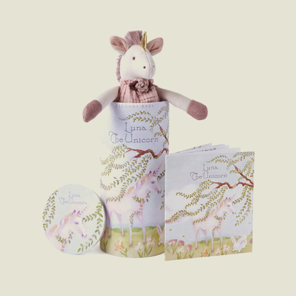 Luna Unicorn Toy & Book Set - Blackbird General Store