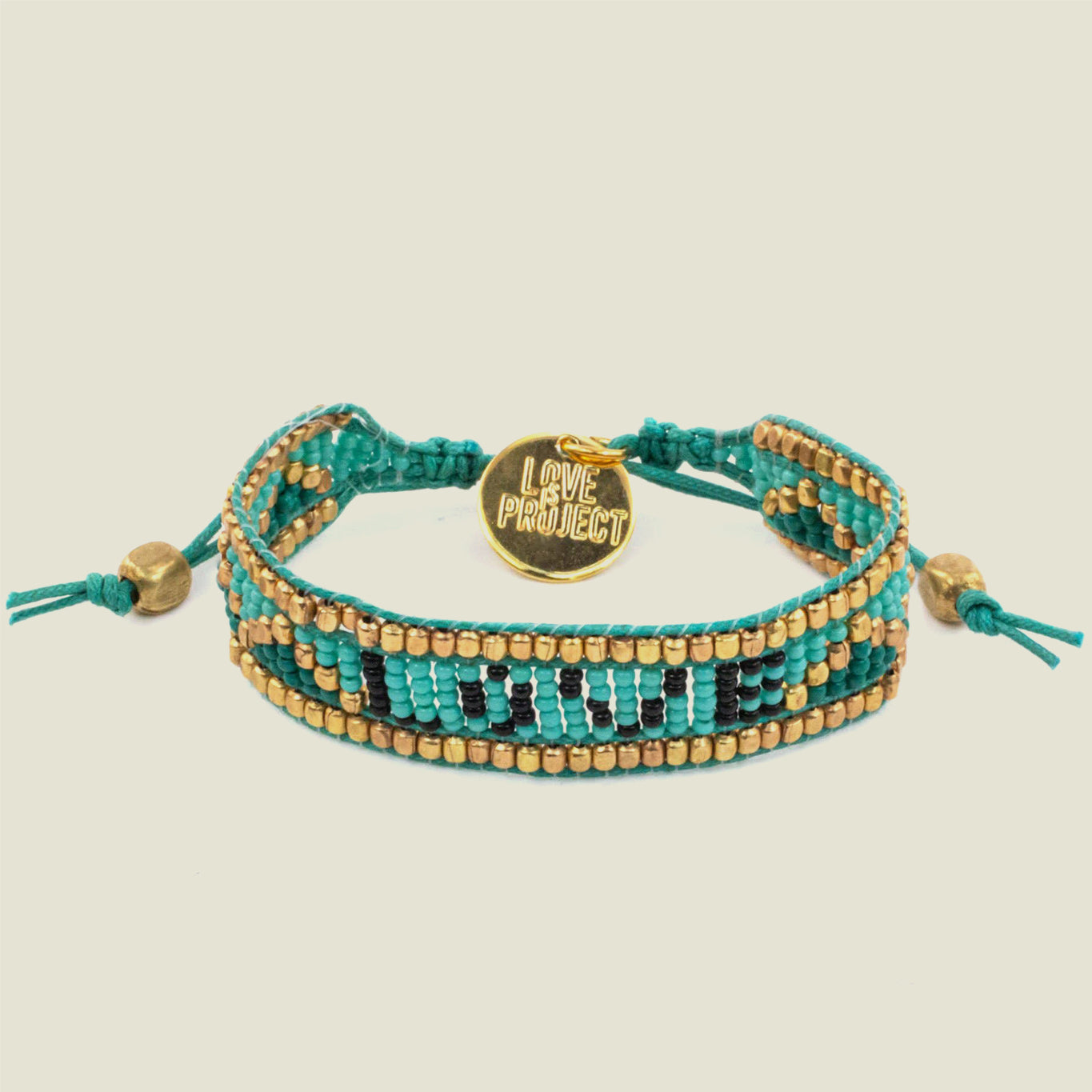Turquoise LOVE Bracelet - Blackbird General Store