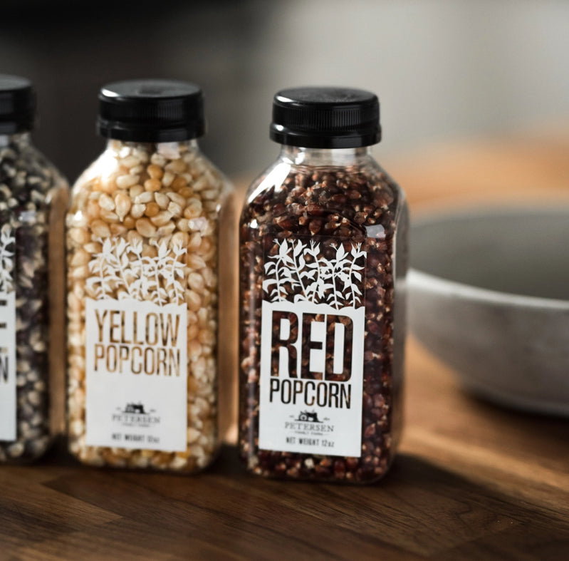 Bottled Popcorn Red - Blackbird General Store