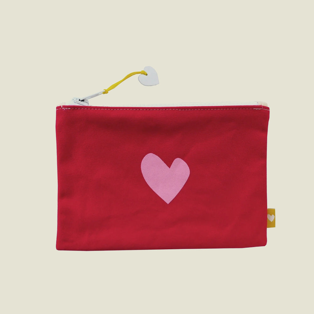 Imperfect Heart Pouch