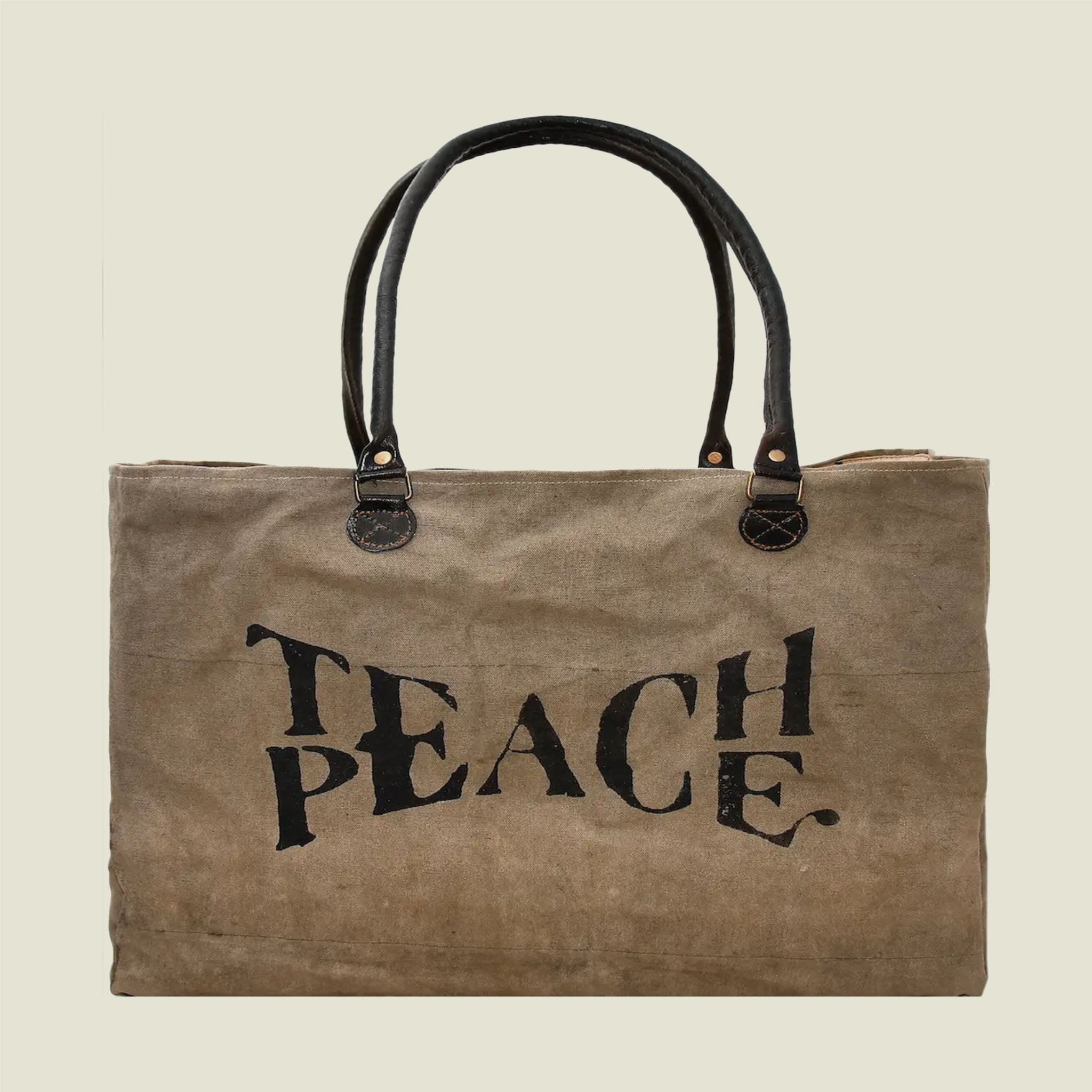 Teach Peace Bag - Blackbird General Store