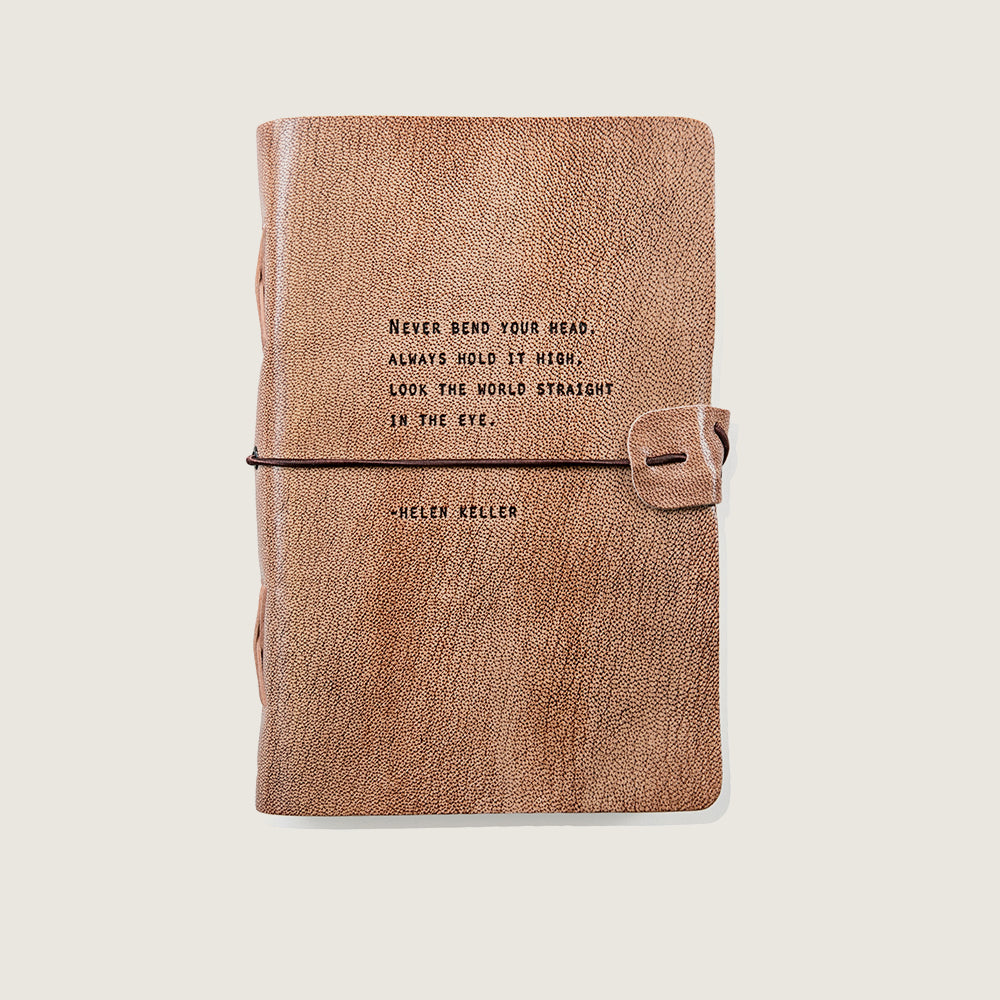 Helen Keller Blush Journal - Blackbird General Store