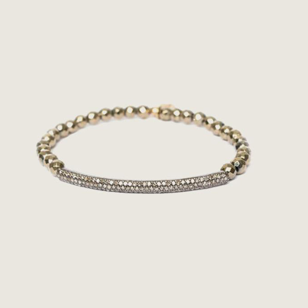 Diamond Tube Bracelet - Blackbird General Store