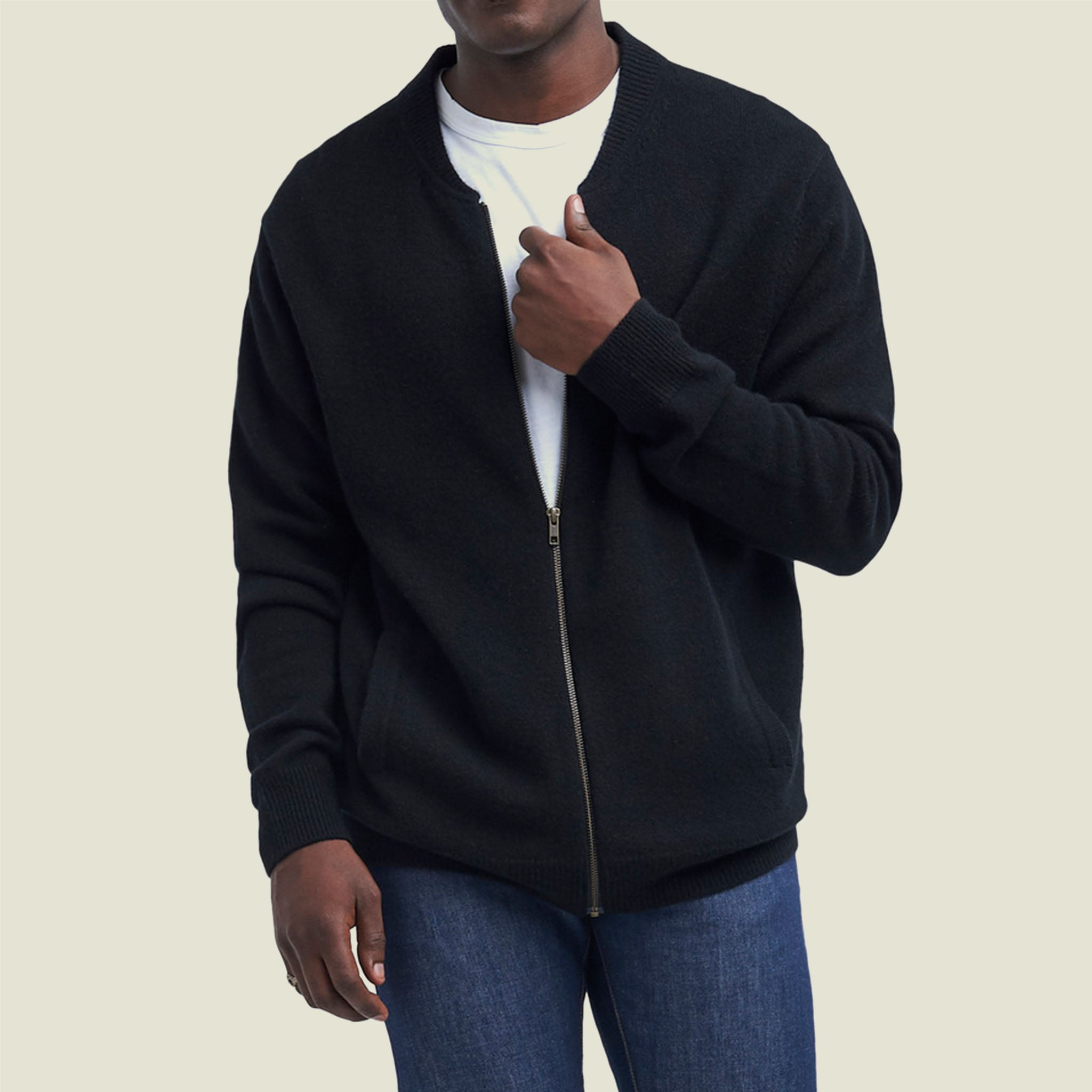 Cashmere Bomber Jacket - Blackbird General Store