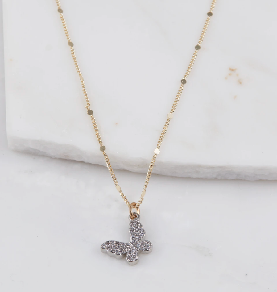 Mariposa Butterfly Necklace - Blackbird General Store
