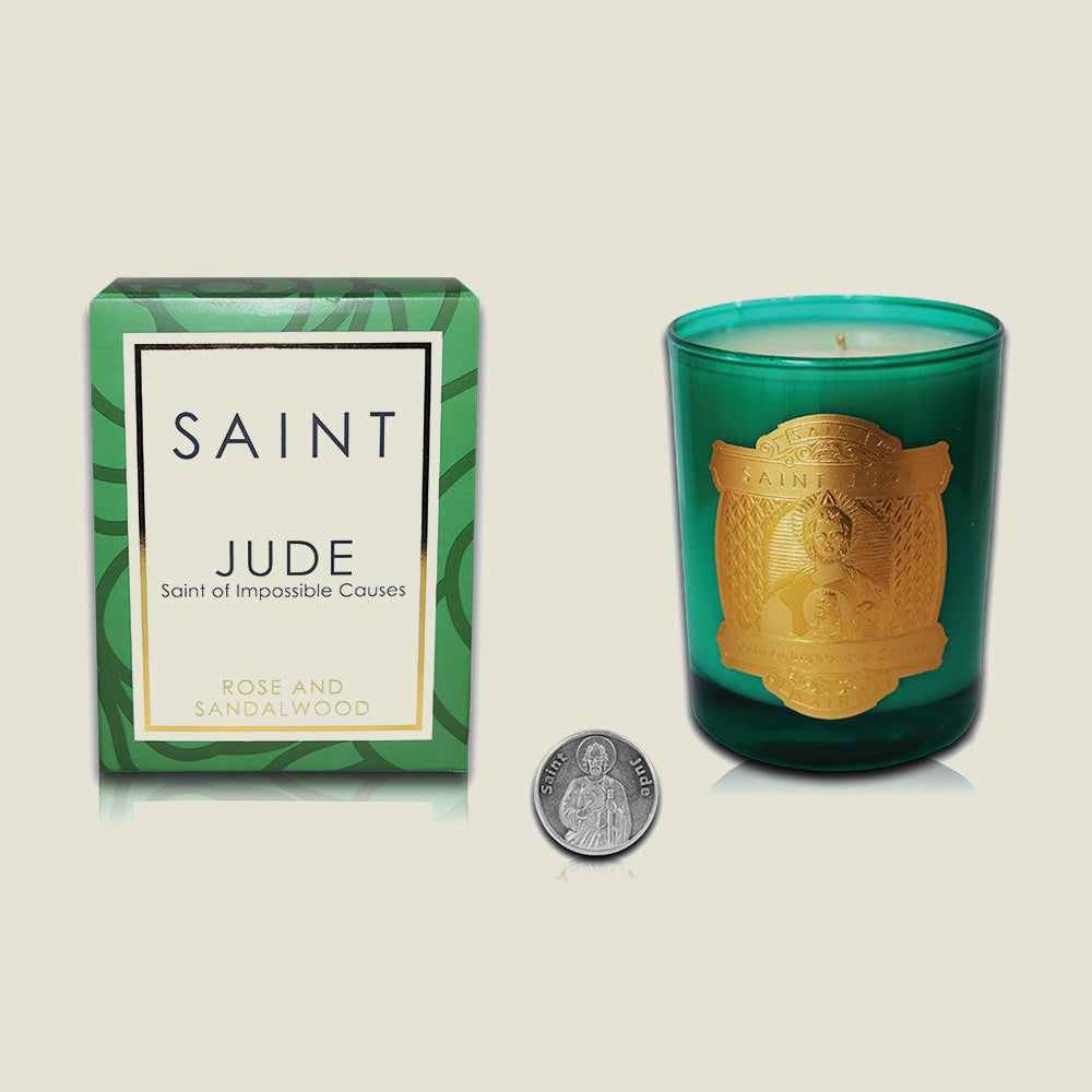 Saint Jude Special Edition Candle - St. of Impossible Causes - Blackbird General Store